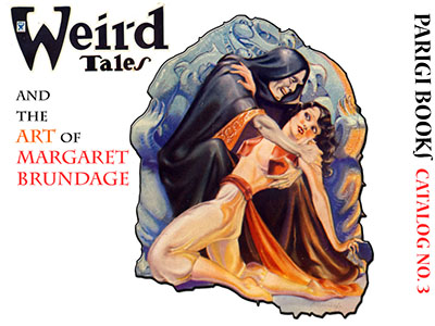 Catalog No. 3 - Weird Tales and the Art of Margaret Brundage