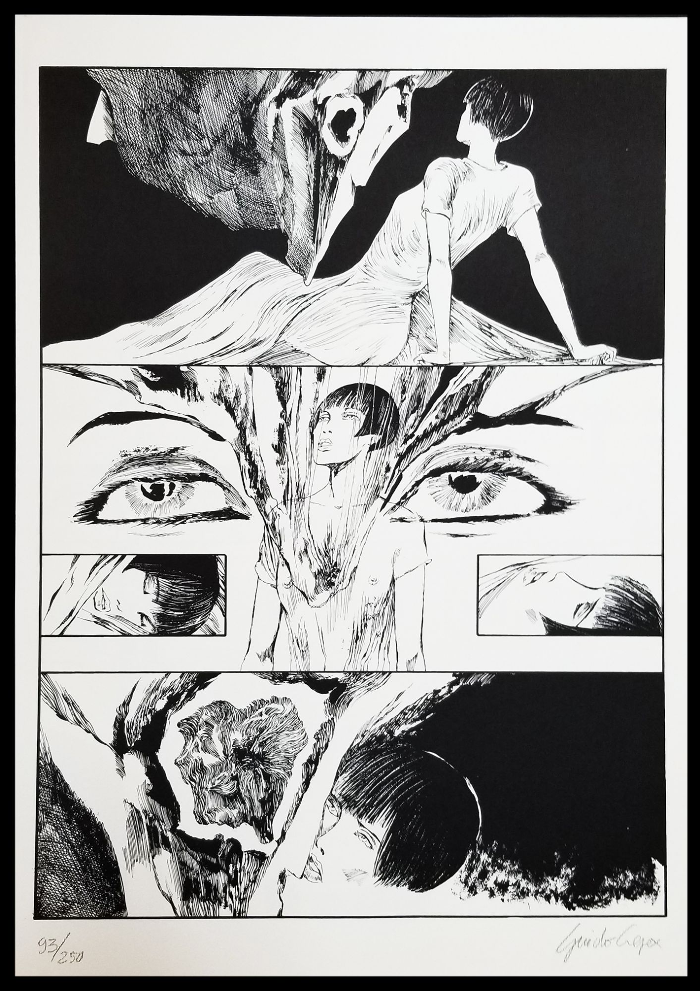 Guido Crepax / Valentina incontra Henry Moore Signed and Numbered Limited 1991   eBay