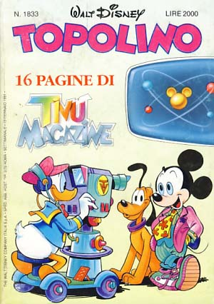 VARIOUS AUTHORS - Topolino #1833