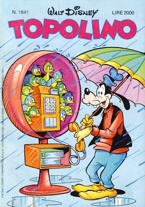 VARIOUS AUTHORS - Topolino #1841