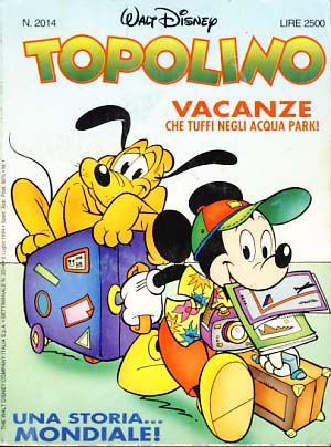 VARIOUS AUTHORS - Topolino #2014