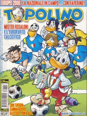 VARIOUS AUTHORS - Topolino #2741