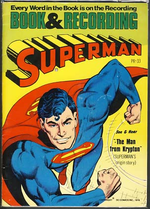 VARIOUS AUTHORS - Superman: The Man from Krypton (Comic and 45 Rpm Record)