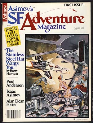 Asimov's SF Adventure Magazine #1 Fall 1978. George H. Scithers, ed.