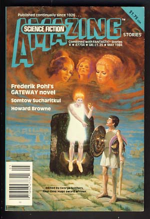 Amazing Science Fiction Stories Combined with Fantastic Stories May 1984 Vol. 58 No. 1. George H. Scithers, ed.