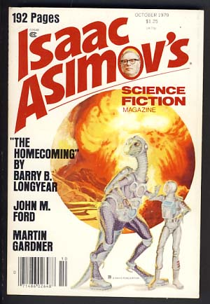 Isaac Asimov's Science Fiction Magazine October 1979 Vol. 3 No. 10. George H. Scithers, ed.