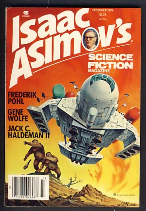 Isaac Asimov's Science Fiction Magazine December 1979. George H. Scithers, ed.
