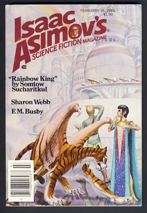 Isaac Asimov's Science Fiction Magazine February 16 1981. George H. Scithers, ed.