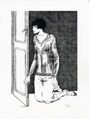 Valentina Limited and Numbered Edition Print #1. Guido Crepax.