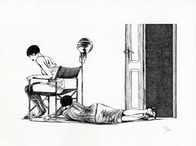 Valentina Limited and Numbered Edition Print #6. Guido Crepax.