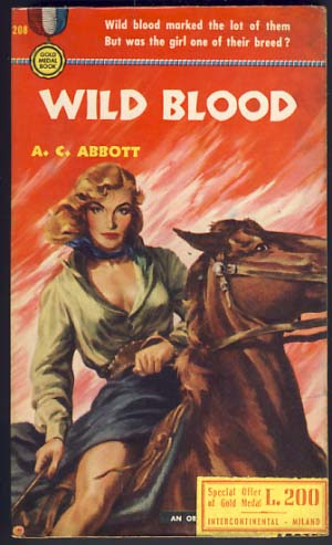Wild Blood. A. C. Abbott.