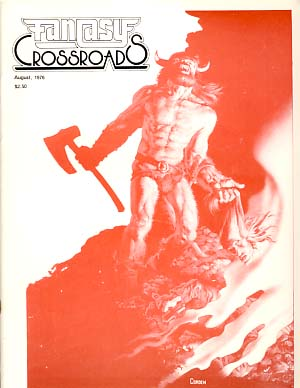 Fantasy Crossroads #9 August 1976. Jonathan Bacon, ed.