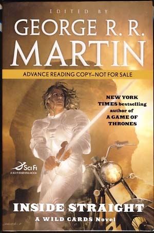 Inside Straight: A Wild Card Novel. George R. R. Martin, ed.