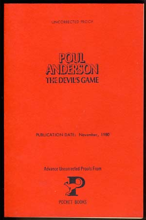 The Devil's Game. Poul Anderson.