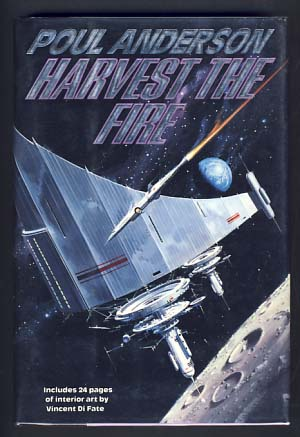 Harvest the Fire. Poul Anderson.