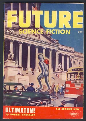 Future Science Fiction November 1953 Vol. 4 No. 4. Robert A. W. Lowndes, ed.