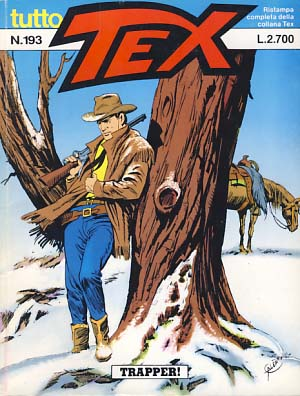 Tex #193 - Trapper! Gianluigi Bonelli.