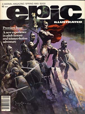 Epic Illustrated 1980-1981 Full Eight Issue Run. Archie Goodwin, ed.