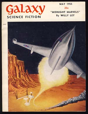 Galaxy Science Fiction May 1955 Vol. 10 No. 2. H. L. Gold, ed.