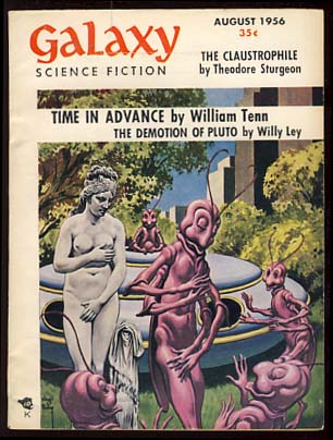 Galaxy Science Fiction August 1956 Vol. 12 No. 4. H. L. Gold, ed.