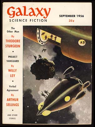 Galaxy Science Fiction September 1956 Vol. 12 No. 5. H. L. Gold, ed.