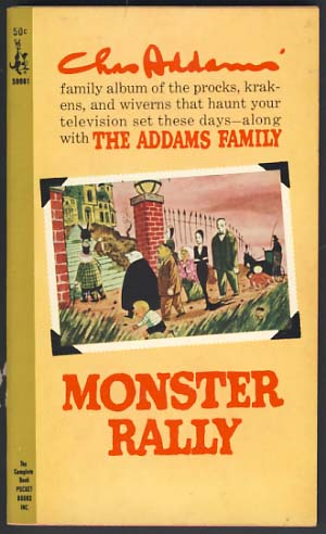 Monster Rally. Chas Addams.