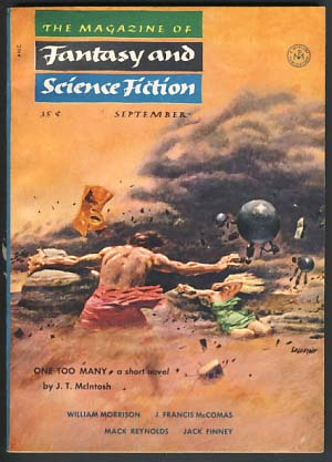 The Magazine of Fantasy and Science Fiction September 1954. Anthony Boucher, ed.