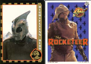 The Rocketeer Super Glossy Movie Cards. Dave Stevens.