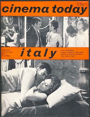 Cinema Today 1966 Vol. 2 No. 3
