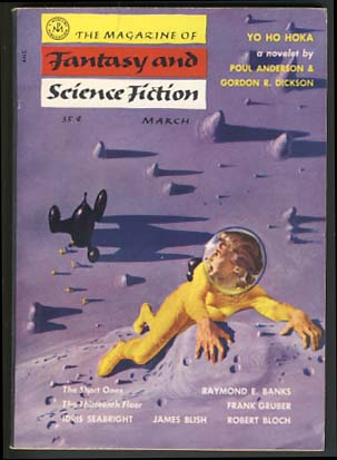 The Magazine of Fantasy and Science Fiction March 1955. Anthony Boucher, ed.