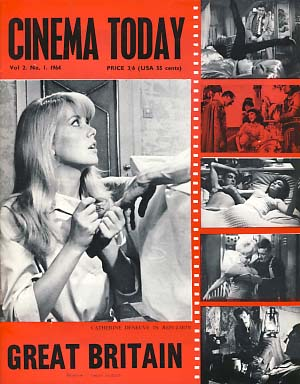 Cinema Today 1964 Vol. 2 No. 1