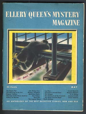 Ellery Queen's Mystery Magazine May 1945 Vol. 6 No. 22. Ellery Queen, ed.