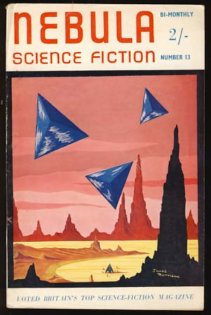 Nebula Science Fiction September 1955 No. 13. Peter Hamilton, ed.