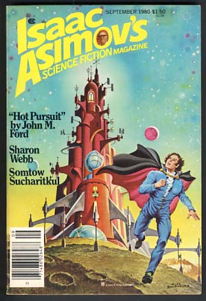Isaac Asimov's Science Fiction Magazine September 1980 Vol. 4 No. 9. George H. Scithers, ed.