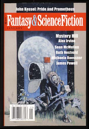 The Magazine of Fantasy & Science January 2008. Gordon Van Gelder, ed.