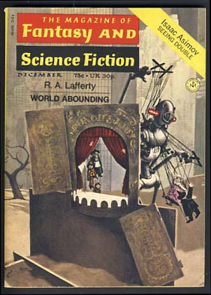 The Magazine of Fantasy and Science Fiction December 1971. Edward L. Ferman, ed.