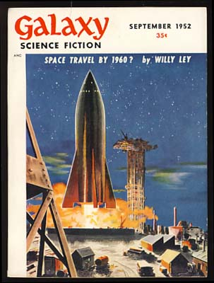 Galaxy Science Fiction September 1952. H. L. Gold, ed.