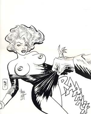 Pin-Up #12 from the Portfolio Chiara, Chica e le altre - Signed and Numbered Limited Edition Print. Jordi Bernet.
