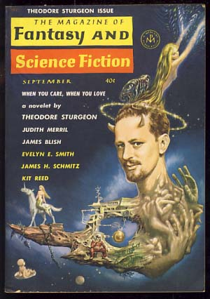 The Magazine of Fantasy and Science Fiction September 1962. Edward L. Ferman, ed.