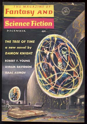 The Magazine of Fantasy and Science Fiction December 1963. Edward L. Ferman, ed.
