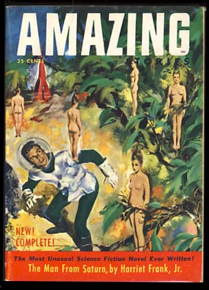 Amazing Stories June-July 1953. Howard Browne, ed.