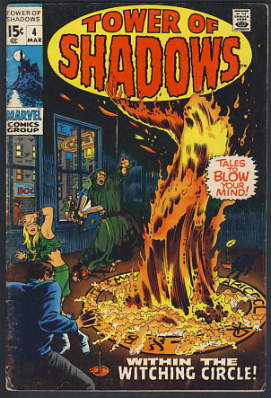 Tower of Shadows No  4 by Allyn Brodsky, Don Heck on Parigi Books