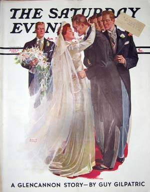 Death on the Nile Part Four in The Saturday Evening Post June 5, 1937. Agatha Christie.