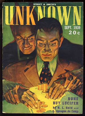 Unknown September 1939. John W. Campbell, ed, Jr.