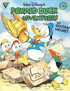 Gladstone Comic Album No. 13 - Donald Duck Adventures Featuring The Golden Helmet. Carl Barks.