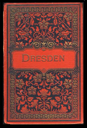 Dresden - Set of Twenty Postcards from the Late 1800s.