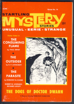 Startling Mystery Stories #14 Winter 1969. Robert A. W. Lowndes, ed.