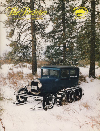 The Restorer (Model A Ford Club of America) 1982 Full Run. Phil. ed Allin.