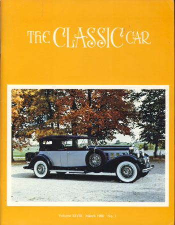 The Classic Car Magazine 1980-1989 Full Run. William S. Snyder, Everett W. Miller, Beverly Rae Kimes, eds.