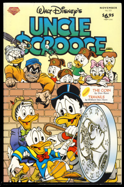 Walt Disney's Uncle Scrooge #323. Carl Barks, Don Rosa.